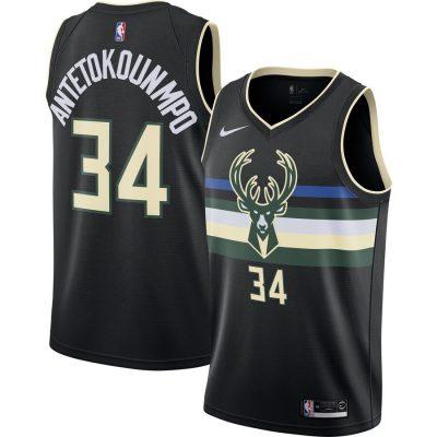 Giannis Antetokounmpo Milwaukee Bucks Nike Finished ...