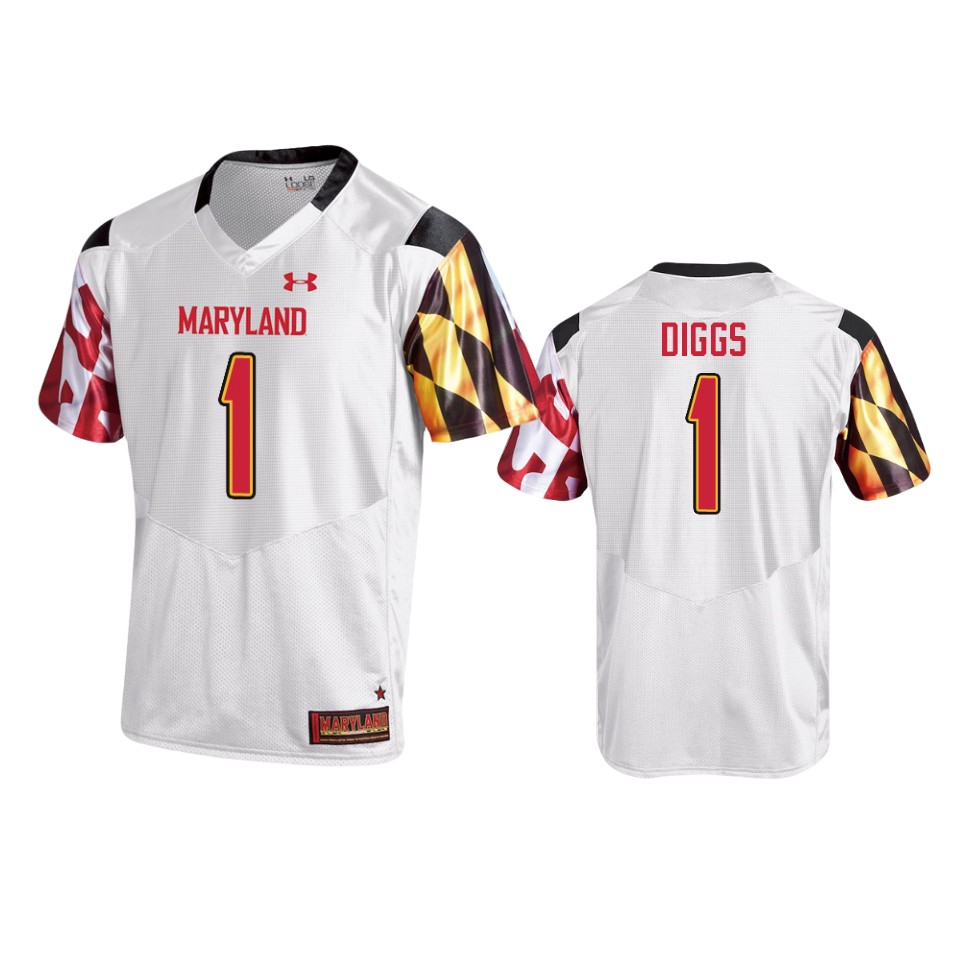 Stefon Diggs Maryland Terrapins College Football White Men's ...