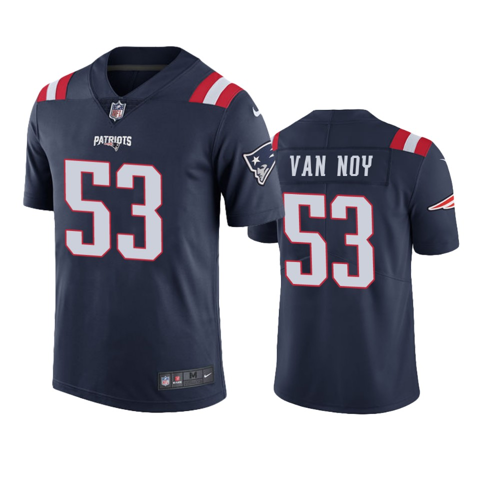 New England Patriots Kyle Van Noy Navy Nike Color Rush Limited ...