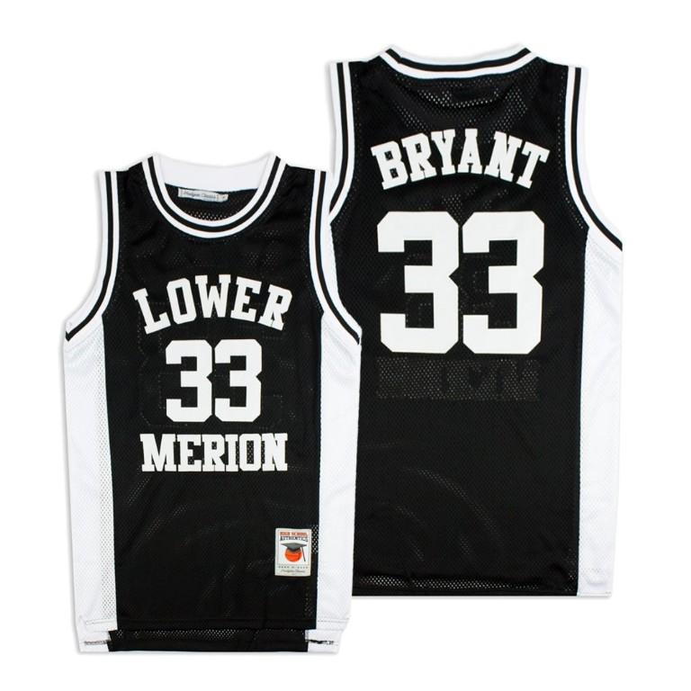 Kobe Bryant Mamba forever Black High School Basketball Jersey ...